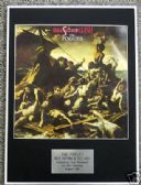THE POGUES - Framed LP Cover - RUM SODOMY & THE LASH